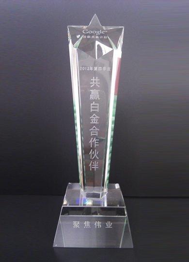 2012年第四季度共赢白金合作伙伴